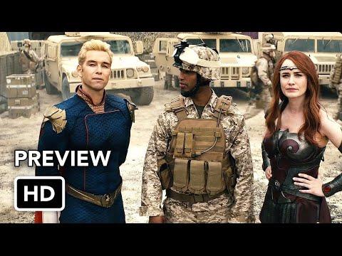 "The Boys Season 2 ""Stormfront"" Clip (HD) Superhero series"