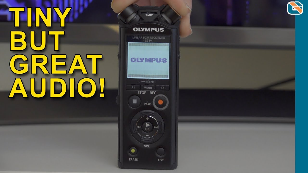 Olympus Ls P4 Audio Recorder Review And Test By Geekanoids Sony Tx800 Digital Voice Tx Series