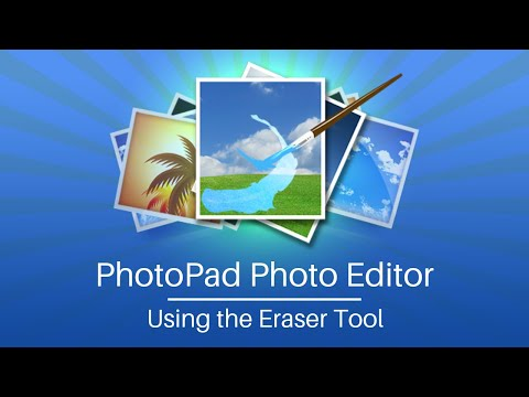 Using The Eraser Tool - PhotoPad Photo Editing Tutorial