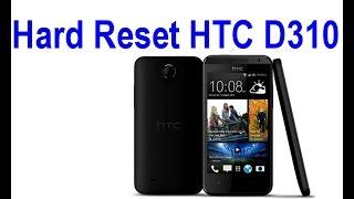 Hard Reset HTC D310