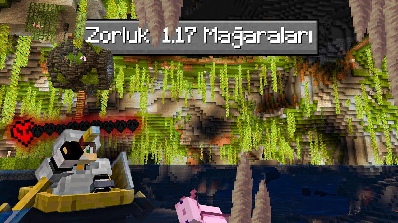 Sadece 1.17 Mağarlarında Yaşayarak Minecraft'ı Bitirdim! İşte Yaşadıklarım..