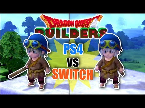 Dragon Quest Builders - PS4 vs Nintendo Switch