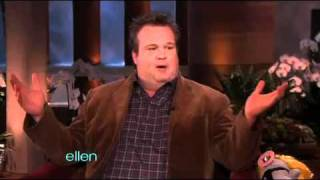 Eric Stonestreet Gets a Little Short