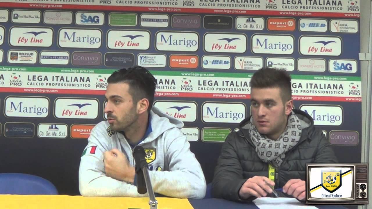 Samuel Di Carmine Juve Stabia Benevento 1 2 Youtube
