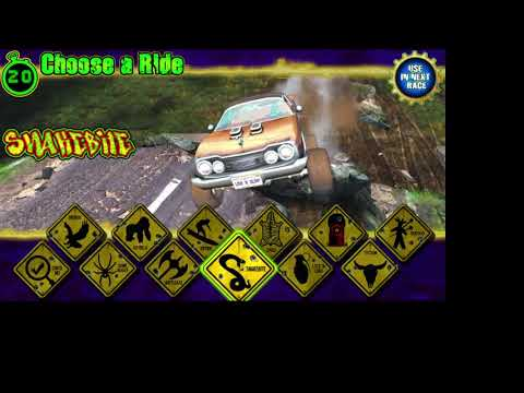 PC ARCADE - DIRTY DRIVIN - BATTLE AXE ALL COURSES 1080p 60fps UK ARCADES PATREON