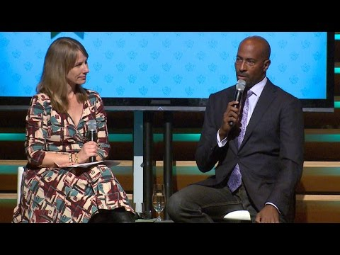 Van Jones takes questions in Toronto about Trump's election