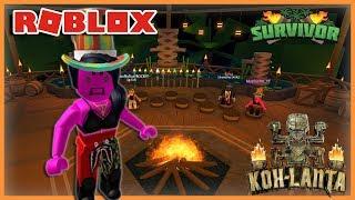I PARTICIPE A KOH-LANTA! Roblox Survivor