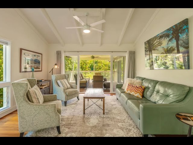 Private Tranquil Home in Hanalei, Hawaii | Sotheby's International Realty