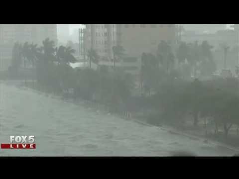 Hurricane Matthew: North Bay Village in Miami-Dade on Thursday