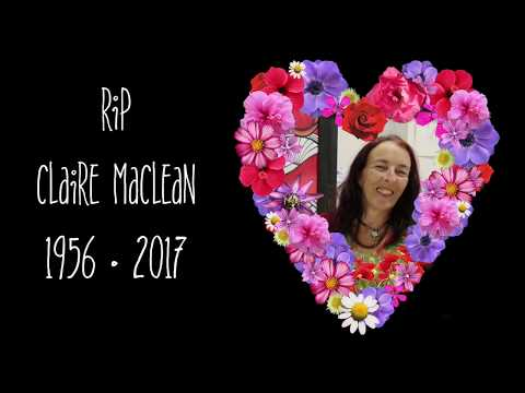 A Floral Tribute to Claire Maclean