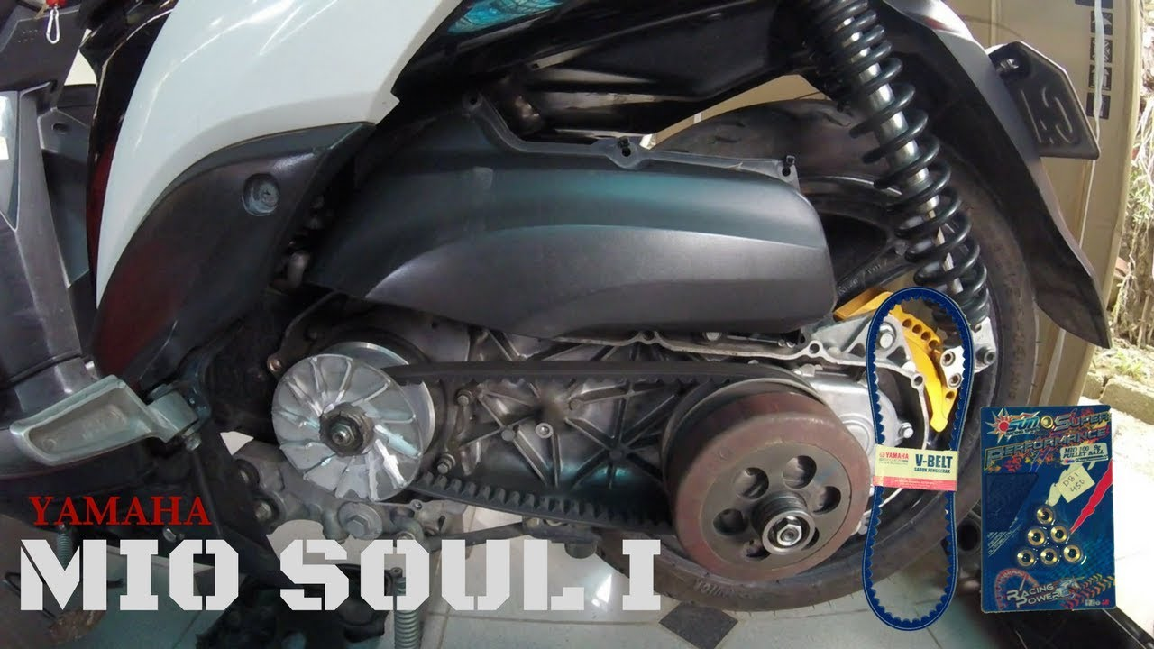mio engine schematics mio soul i: drive belt and roller replacement - youtube #3