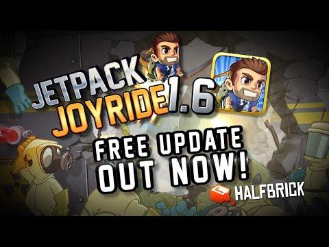 Jetpack Joyride 1.6 - S.A.M.