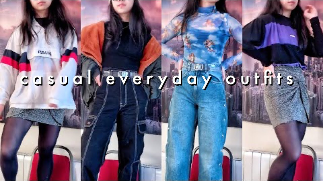 [VIDEO] - everday cozy winter outfit ideas 1