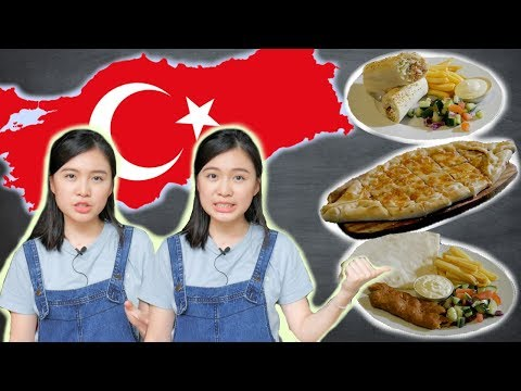 TRYING TURKISH FOOD - Get Fat With Allyna: Ep 4