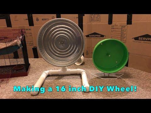 How I Made my 16 Inch DIY Rat Wheel