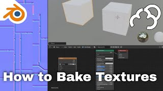 Blender 2.8 - H๐w to bake textures - Tutorial