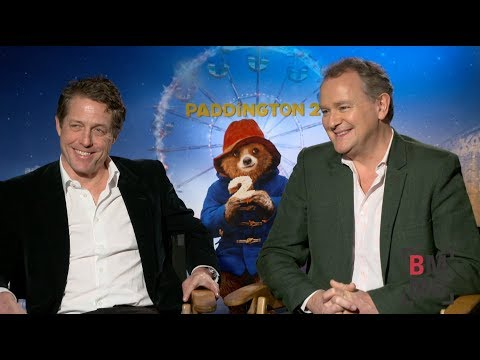 Hugh Grant & Hugh Bonneville Interview - Paddington 2