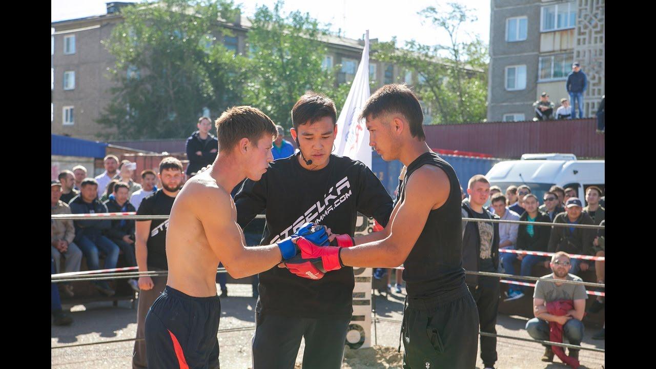 Боксер против Бойца ММА, Стрелка в Улан-Уде