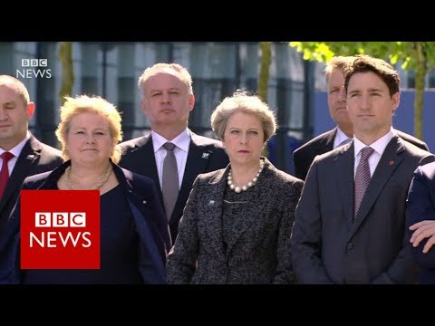 Download Youtube: Donald Trump tells Nato allies to pay up - BBC News