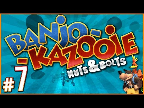 Banjo-Kazooie: Nuts & Bolts - I'M ON A BOAT! | PART 7