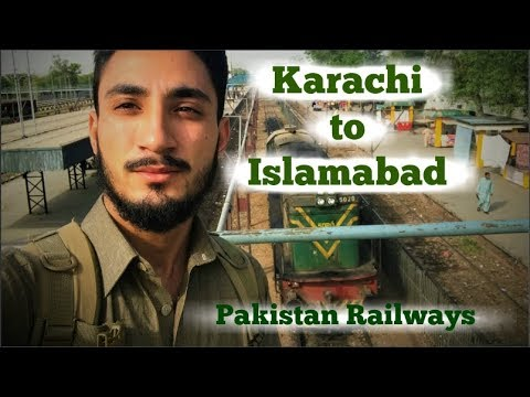 Karachi to Islamabad | Pakistan Railways | VLOG