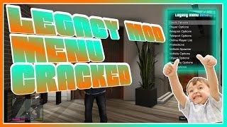 GTA 5 ONLINE: LEGACY 1.6 MOD MENU  CRACKED + FREE DOWNLOAD [XBOX 360]