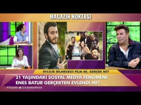 ENES BATUR EVLENDI!!!