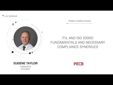 ITIL and ISO 20000: Fundamentals and necessary compliance Synergies