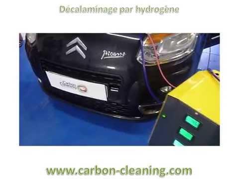 Decalaminage moteur sur Citroen C3 Picasso 1L6 HDi avec Carbon Cleaning