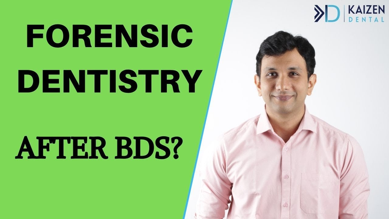 Forensic Dentistry After Bds 2020 Yes Or No Youtube
