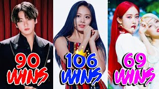Kpop Groups with Most Wins in Music Shows of All Time! - 2020!