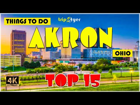 Akron (Ohio) ᐈ Things to do || Best Places to Visit || Top Tourist Attractions ☑️