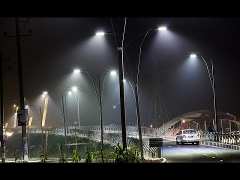 Amazing Hatirjheel (হাতিরঝিল) At Night- Dhaka, Bangladesh