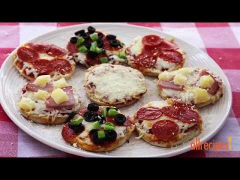 How to Make English Muffin Pizzas | Kid-Friendly Recipes | Allrecipes.com
