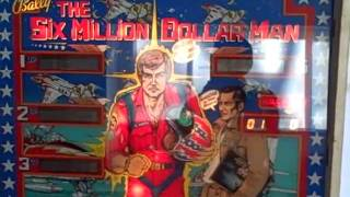 Six Million Dollar Man Pinball