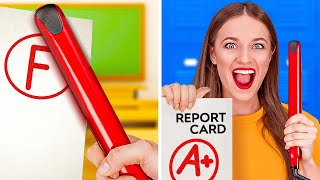 STUDY SMART NOT HARD || Secret School Hacks That Will Ease Your Life