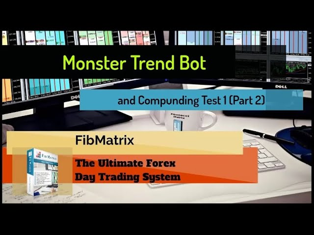 Monster Trend (Part 2)Automated Forex Trading Strategy compounding new account first results