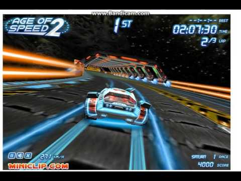 Playing Age of Speed 2 on Miniclip