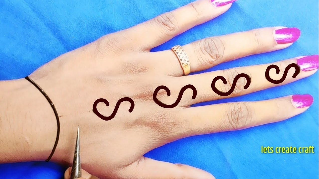 Easy back hand Arabic mehndi design||s alphabet mehndi design trick||करवा चौथ स्पेशल अरेबिक मेहंदी