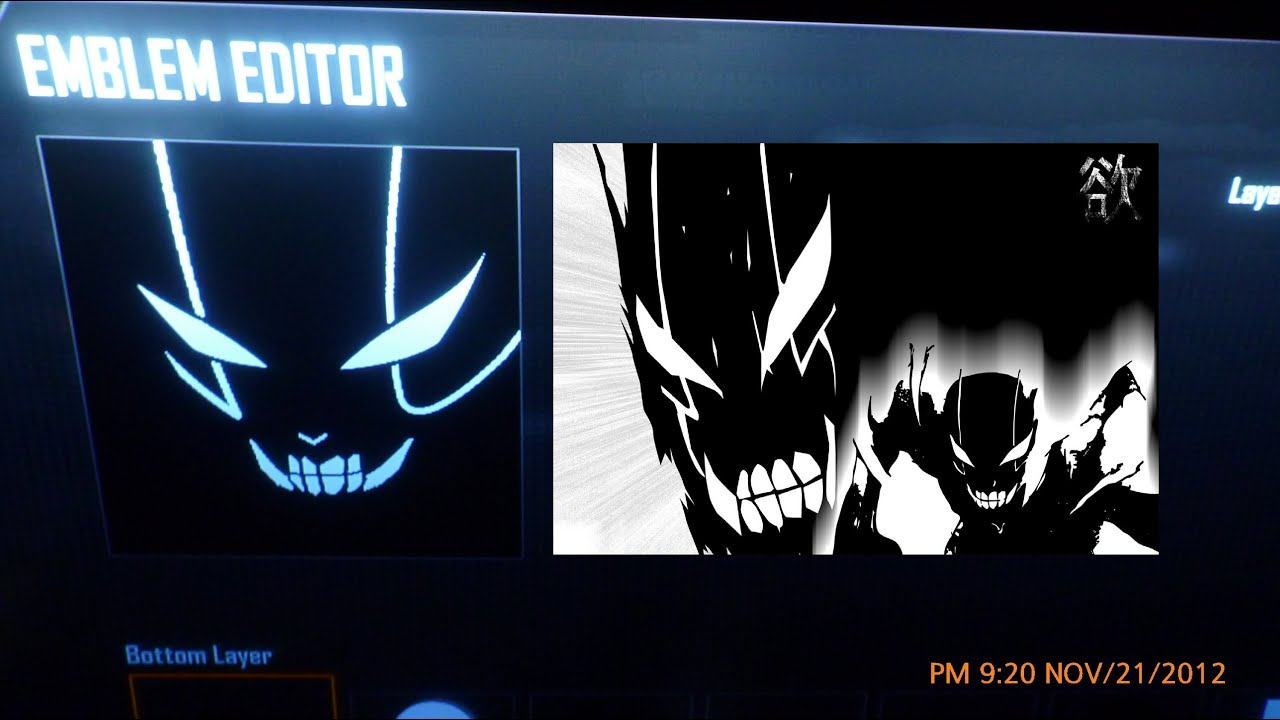how to put emblems on black ops 2