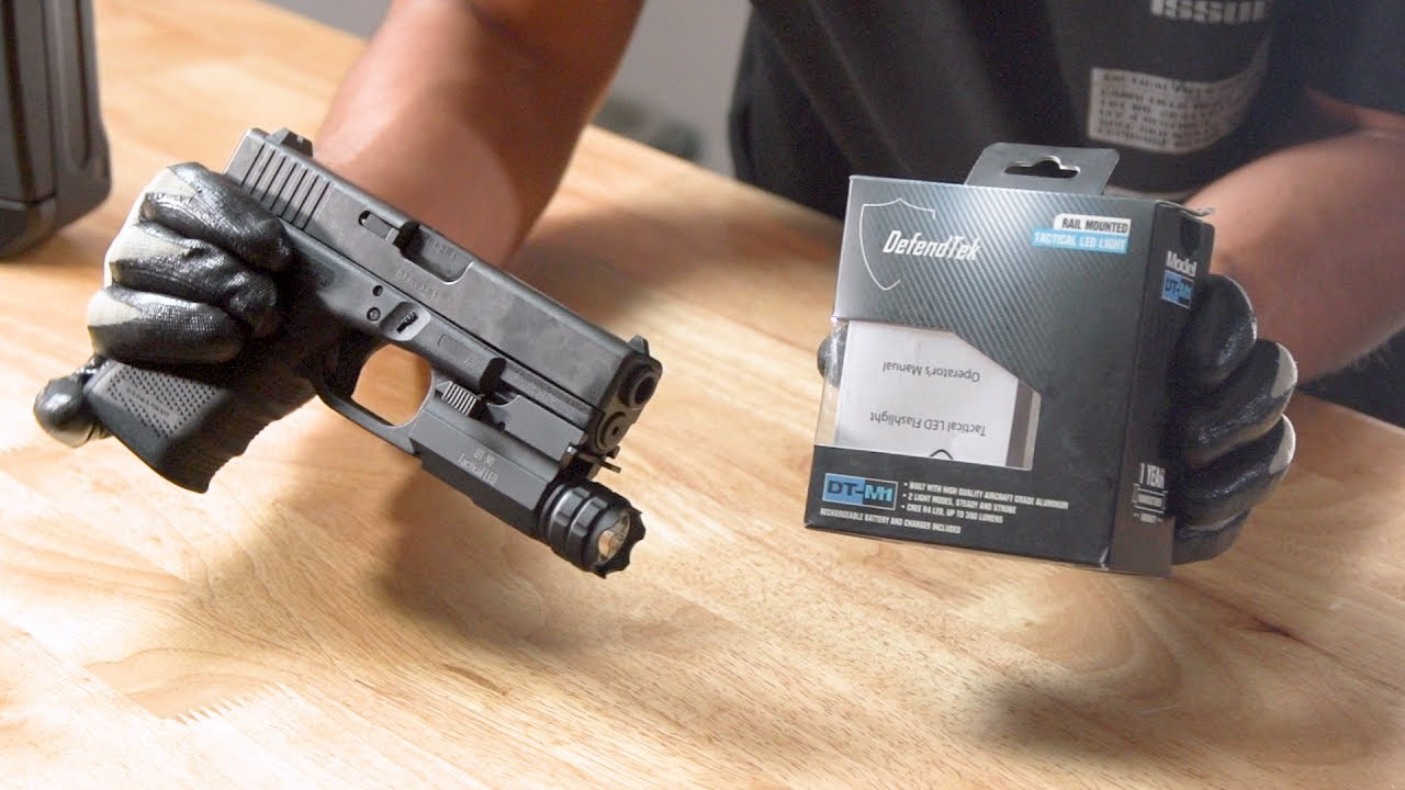 This $30 Weapon Light Is Dope!