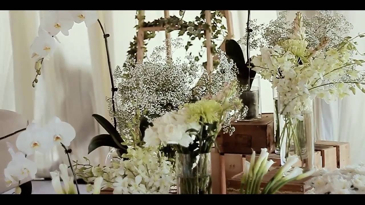 wedding deco - rustic theme @apark puchong - youtube