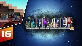 Junk Jack X | Let's Play | Episode: 16 Roofs & Mob Traps!