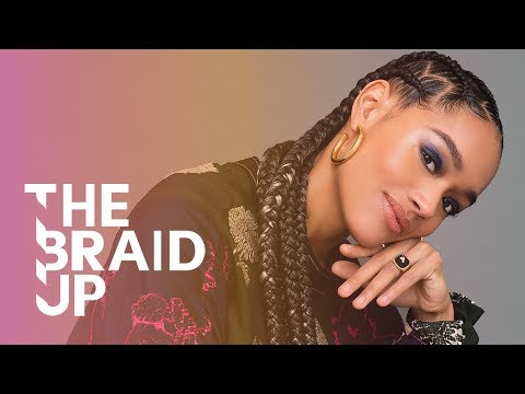 Stitch Braids With Zigzag Parts | The Braid Up | Cosmopolitan
