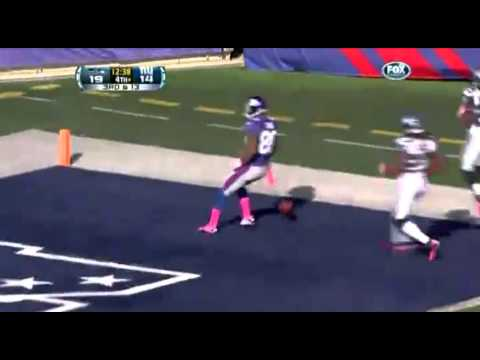 Giants WR Victor Cruz TD Salsa