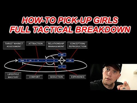 How-To Pick-up Girls (Full Tactical Breakdown) 💃😎💃