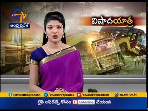 Road Accident at Tirunelveli   5 Guntur District Residents Dead