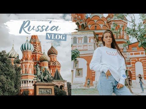 Смотреть MOSCOW RUSSIA VLOG | Traveling To Mother Russia ✈️ онлайн