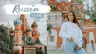 MOSCOW RUSSIA VLOG | Traveling To Mother Russia ✈️