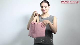 DUE OMBRE розового цвета/ Обзоры итальянских женских сумок/ DOMANI